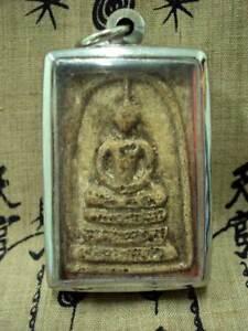 Thai-Buddha-Amulet-Somdej-Toh-Pim-Yai-Wat-Rakang-Magic-Power-Talisman-Pendant