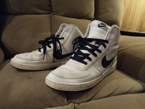 Marine 10 High Air Vandal Obsidienne 141 Leather 2005 Nike 5 Bleue 309427 Sz UpSGqzMV