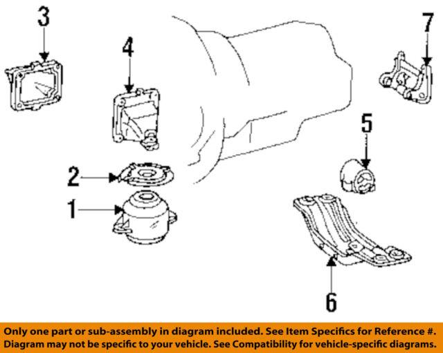 engine mount right side w 140 mercedes 300 sd om 603 om 603 971 mb rh ebay com