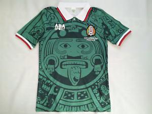 6d231c5e9d8 ABA SPORTS 1998 COPA MUNDIAL FIFA MEXICO NATIONAL TEAM SOCCER JERSEY ...