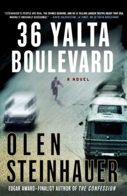 Steinhauer Olen-36 Yalta Boulevard (US IMPORT) BOOK NEU