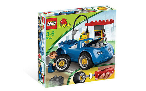 LEGO Duplo 5640 Gas Station 24 Pieces Pieces Pieces Set New Hard To Find c5975a