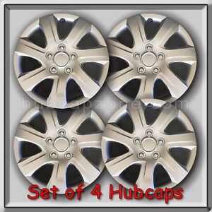 Image Is Loading Set Of 4 16 034 Silver Toyota Camry