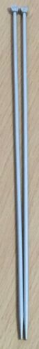 No 7 Aero Vintage Knitting Needles 4.5mm Grey Metal Needles 35cm long Crafts