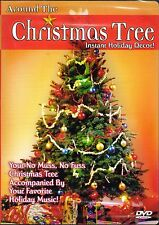AROUND THE CHRISTMAS TREE INSTANT HOLIDAY DECOR! VIRTUAL DECORATIONS & MUSIC DVD