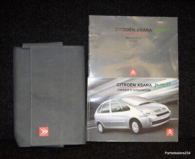 Citroen Xsara Picasso Manuel Handbook Wallet 2004-2010 Pack M-779