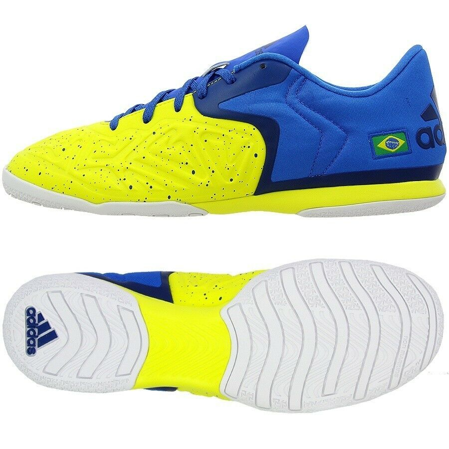 NIB~Adidas X 15.2 COURT BRAZIL f50 INDOOR Soccer samba Football f50 BRAZIL Cleat Shoe~Sz 12 fbe2da