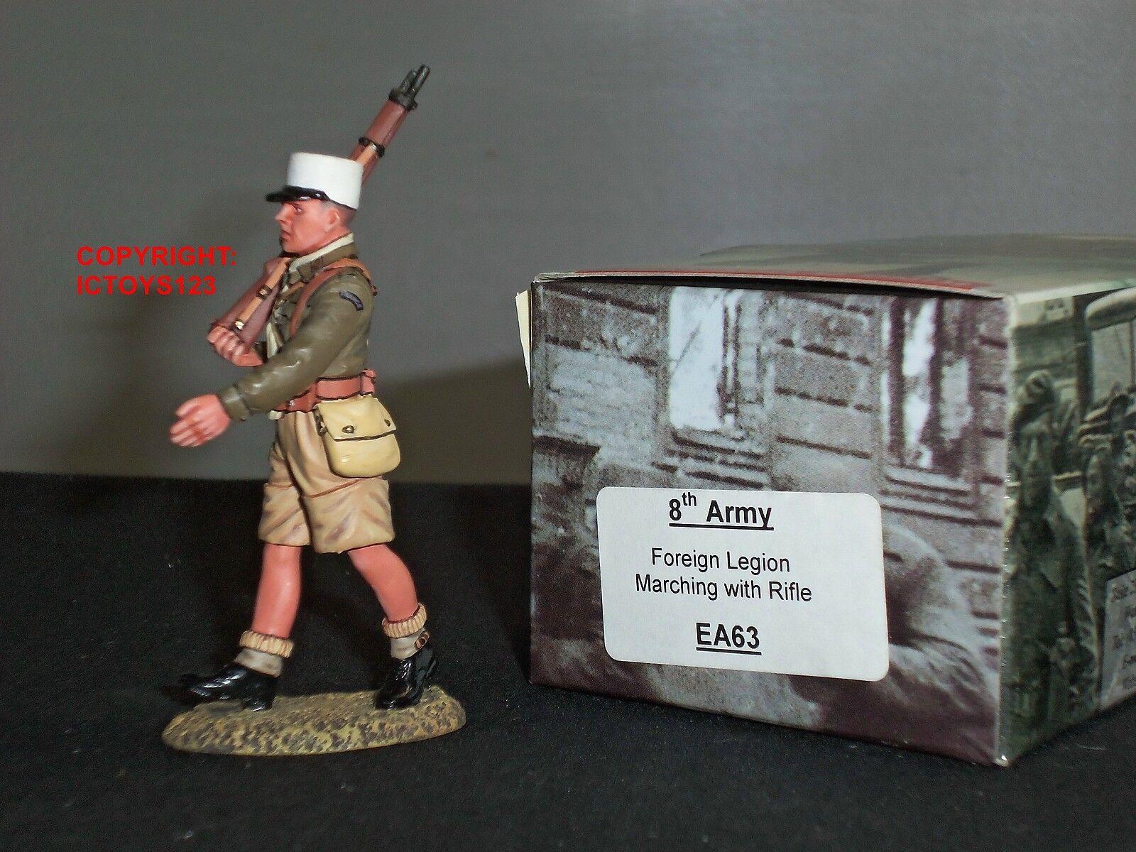 King and Country EA63 8TH legione straniera dell'esercito marcia con fucile giocattolo Soldato