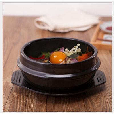 High Temperature Spodumene Stone Bowl South Korean Stone Bowl  for Bibimbap