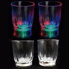 4 pcs Multi Color Flashing LED Light Up Shot Glasses Drink Barware Party Supply