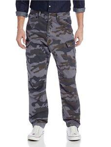 56be6d9da43 La foto se está cargando G-Star-rovic-Extra-Suelto-conico-Camo-Pantalones-