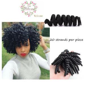 Details About Elastic Strong Curly Deep Twist Best Crochet Braids Hair Styles 20pcs Set Tool