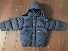 e96b0f6a4 Polo Ralph Lauren Boys Toddler Down Puffer Jacket Old School Blue ...