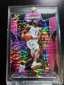 Zion-Williamson-2019-20-Panini-Prizm-Draft-Picks-1-Pink-Pulsar-Rookie-Card-RC