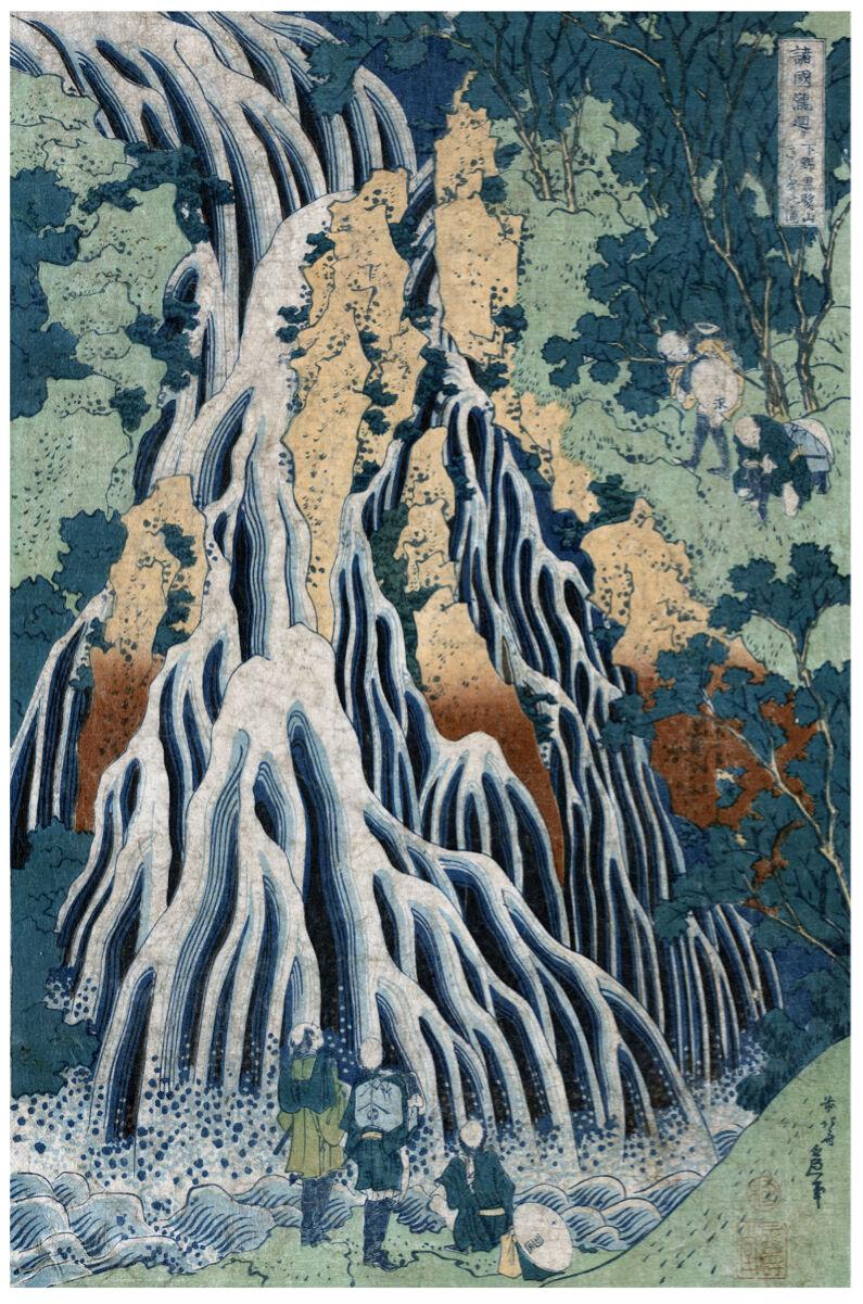 Vintage POSTER.Stylish Graphics.Oriental Scene.Japan Room art Decor.690i