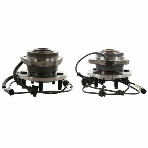 Front Wheel Hub Bearing for 2002 2003 Jeep Liberty 4 WHEEL ABS ONLY 2 Pair