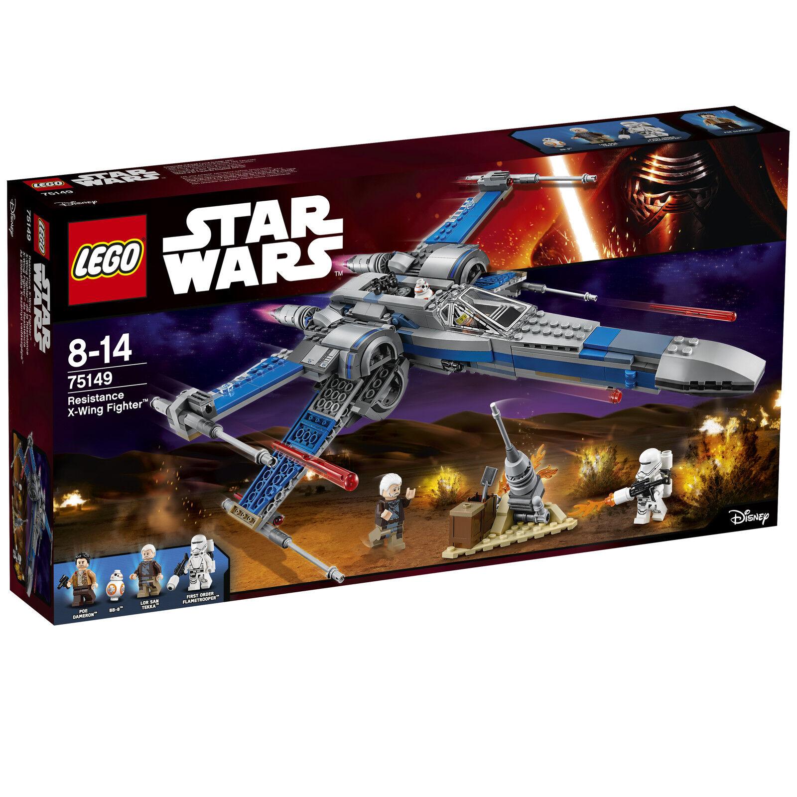 LEGO ® Star Wars ™ 75149 RESISTANCE X-Wing Fighter ™ Nouveau neuf dans sa boîte NEW En parfait état, dans sa boîte scellée Boîte d'origine jamais ouverte