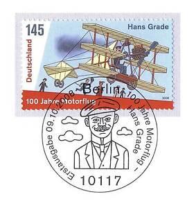Rfa 2008- dumalheureux Hans grade NR 2698 avec de Berlin ersttags-cachet spécial! 1a-rstempel! 1Aafficher le titre d`origine EUuR9zA8-07152232-282636888