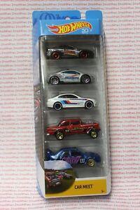 Hot Wheels Car Meet 55 Chevy Bel Air Gasser 5 Pack Custom Card Only
