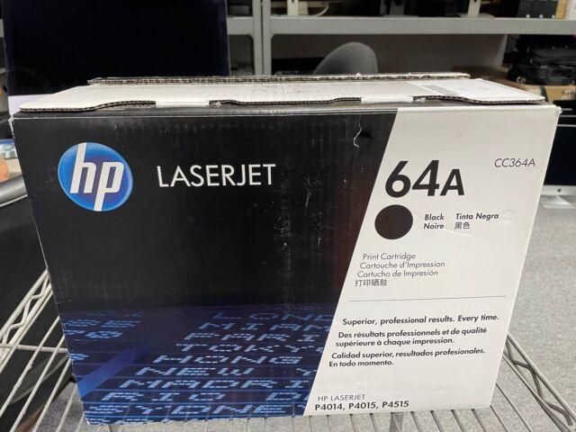 HP 64A CC364A BlackToner Cartridge for P4014 P4015 P4515 Open Box Sealed Bag