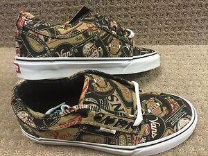 Zapatos Y Vans Negro Bajo Chukka Hombre Marrón etiquetas CUHq4qw