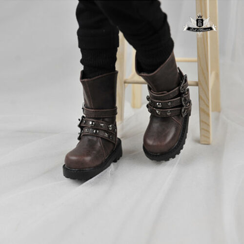 1//4 BJD Boots Dollfie Dream EID SOOM AOD DOD LUTS Dollmore Shoes MSD Punk Boots