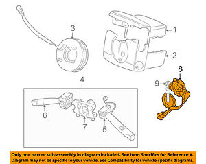 Land Rover OEM 99-01 Discovery рулевое column-ignition замок on