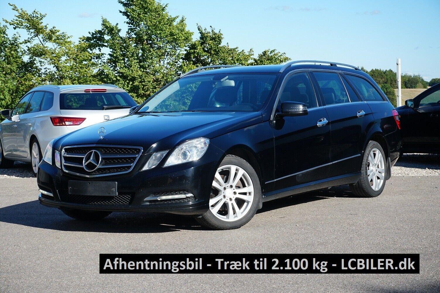 Mercedes E200 2,2 CDi stc. aut. BE 5d - 119.895 kr.