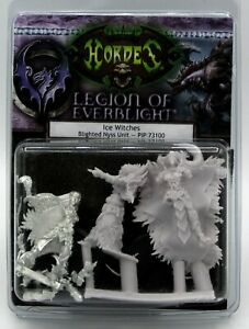 Warmachine-PIP73100-Ice-Witches-Blighted-Nyss-Unit-Everblight-Female-Elf-Mages
