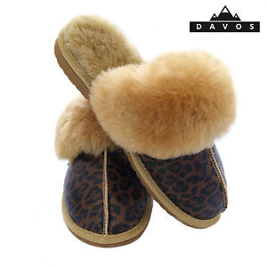 Hausschuhe LiebenswüRdig Women's Ladies Premium 100% Pure Genuine Sheepskin Mules Slippers Eva Sole Box PüNktliches Timing