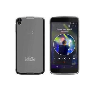 Case-FIT-silicone-rigid-clear-for-Alcatel-Idol-4-Colour-White