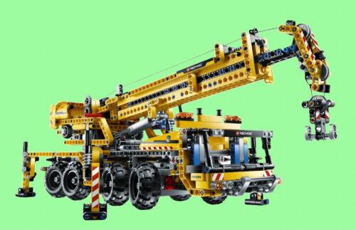 Lego 8053 Mobile Grue avec Moteur