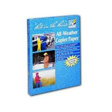 Rite In The Rain 8511 White Copier Paper 200 Sheets 8 12 Inch By 11 Inch