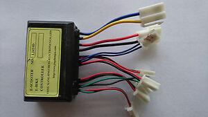 HMParts E Scooter Fahrrad EV Electric Steuergerät Controller L2424D / 24V  250W