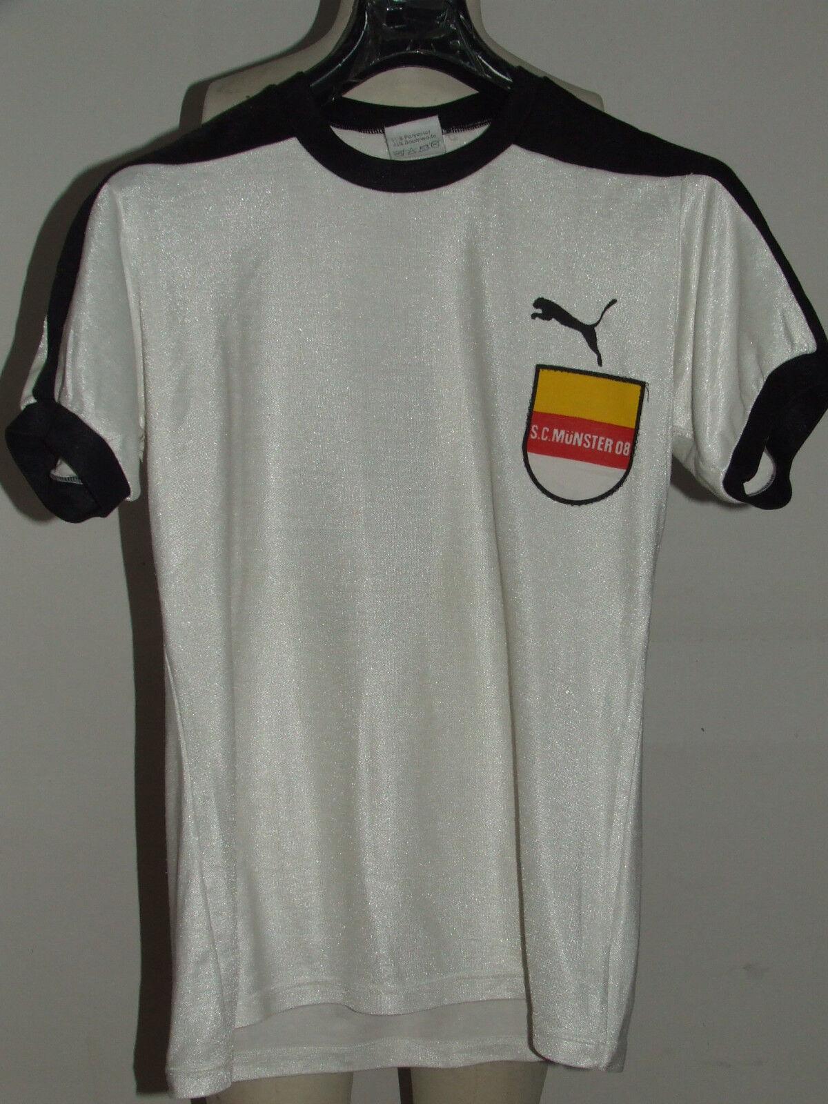 Fußballtrikot Trikot Maillot Camiseta matchworn SC Munster 08 Nr16 80'S