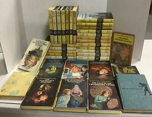 Lot Of 10 VINTAGE NANCY DREW MYSTERY Hardcovers ~Carolyn Keene-Random MIXED