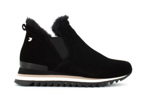 Gioseppo scarpe donna sneakers con zeppa interna 56776 ECKERO NERO A19