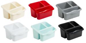 Wham Plastic Kitchen Organiser Large Sink Tidy Cutlery Holder Ebay