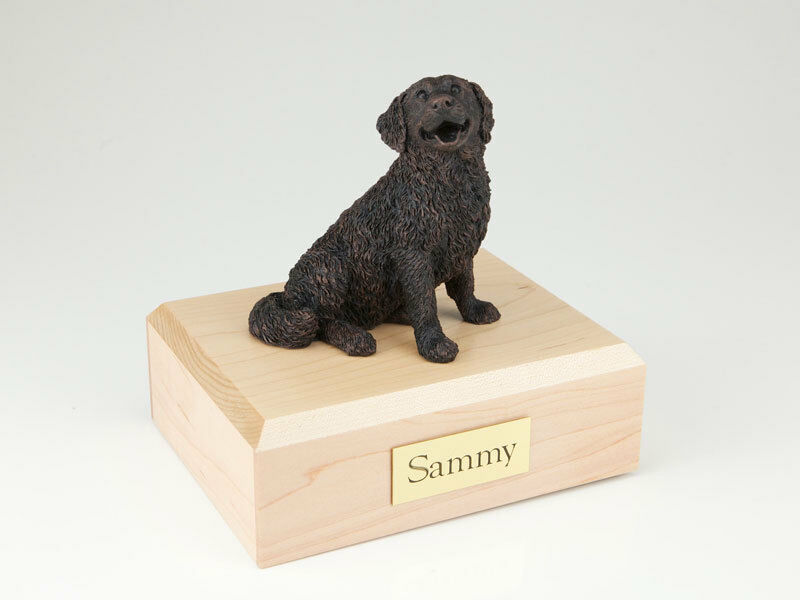 Bernese Mountain Dog Pet Funeral Cremation Urn Avail 3 Different colors 4 Sizes
