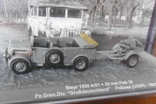 20 mm Flak 38 Steyr 1500 A//01 Panzer USSR //1943//unbespielt //1:72