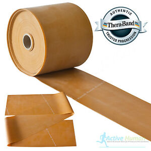 Theraband-Resistance-Bands-Exercise-Gym-Physio-Thera-Band-Strips-Catapult-Gold