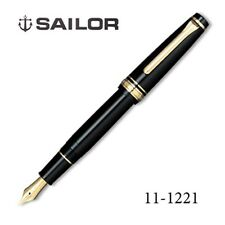 Sailor Professional Gear Slim BK Broad (B) nib Gold SAPPORO 14k fountain pen