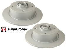 For VW Bettle Fastback Ghia Pair Set Of Front Solid Disc Brake Rotors 600109400