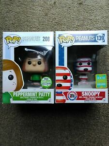 Peanuts-Pop-Vinyl-snoopy-and-peppermint-Patty-convention-set