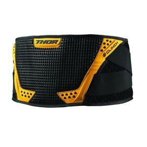 Thor-Clinch-ceintures-Rein-nierenprotektor-noir-jaune-pour-motocross-enduro