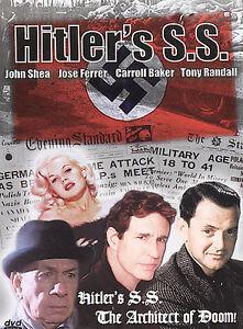 HITLER'S S.S. DVD NEW RARE OOP 1985 FILM JOSE FERRER John Shea Tony Randall