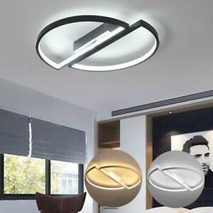 Plafonniers LED Lampe Lustre Cuisine Salon Chambre Anneau Pendentif Lumière LB