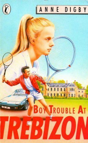 Boy Trouble at Trebizon (Puffin Books) By Anne Digby