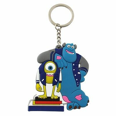 """Disney Monsters Inc. Mike and Sulley 2.8"""" / 7cm Key Ring Chain"""