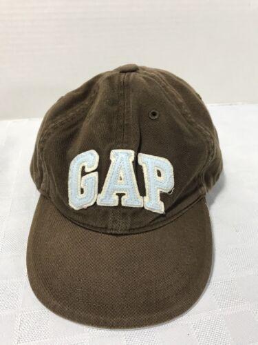 a527a4ef16e97 GAP BABY TODDLER Boys Brown Baseball Hat Cap SZ M L 4-5Y -  10.49 ...